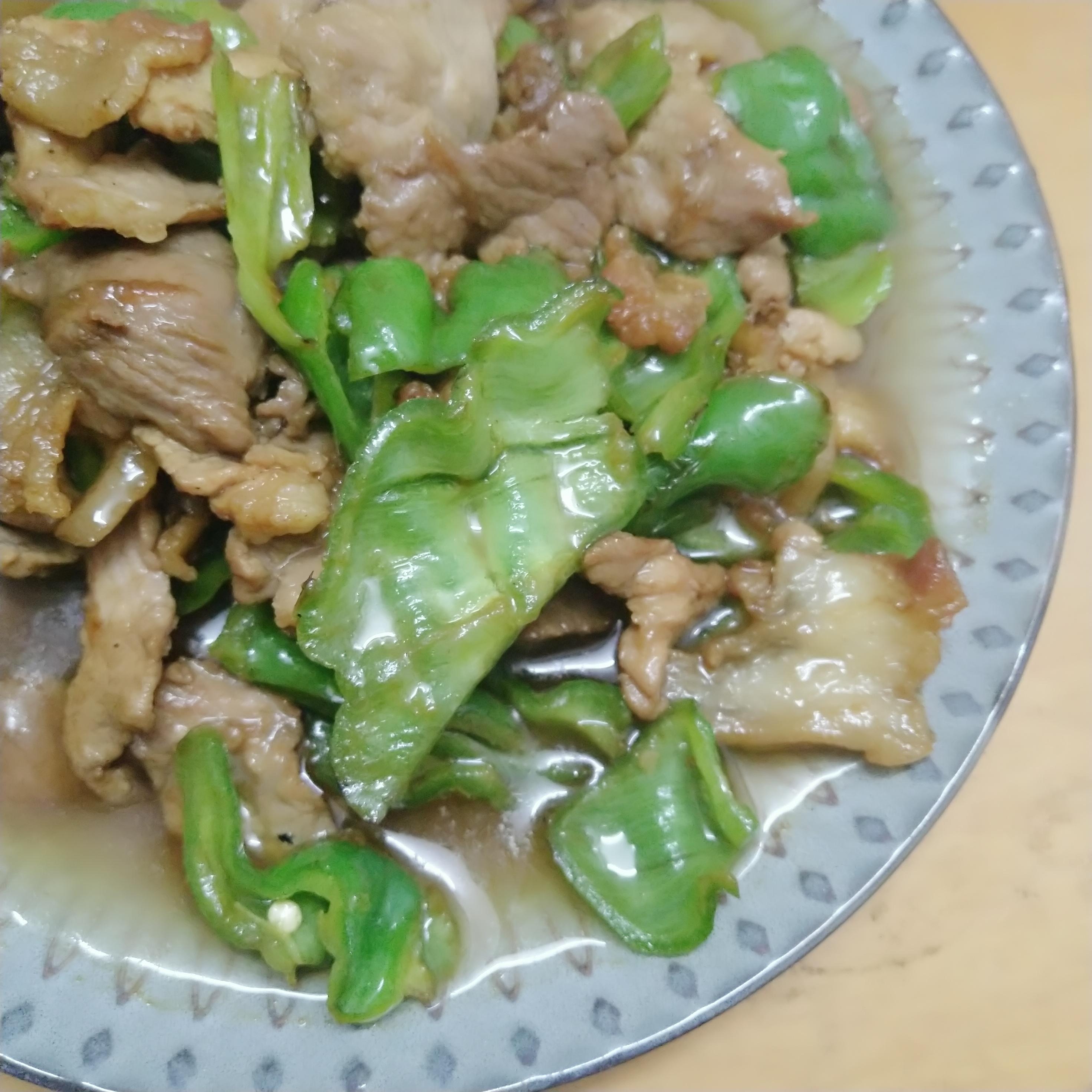 辣椒炒肉成品