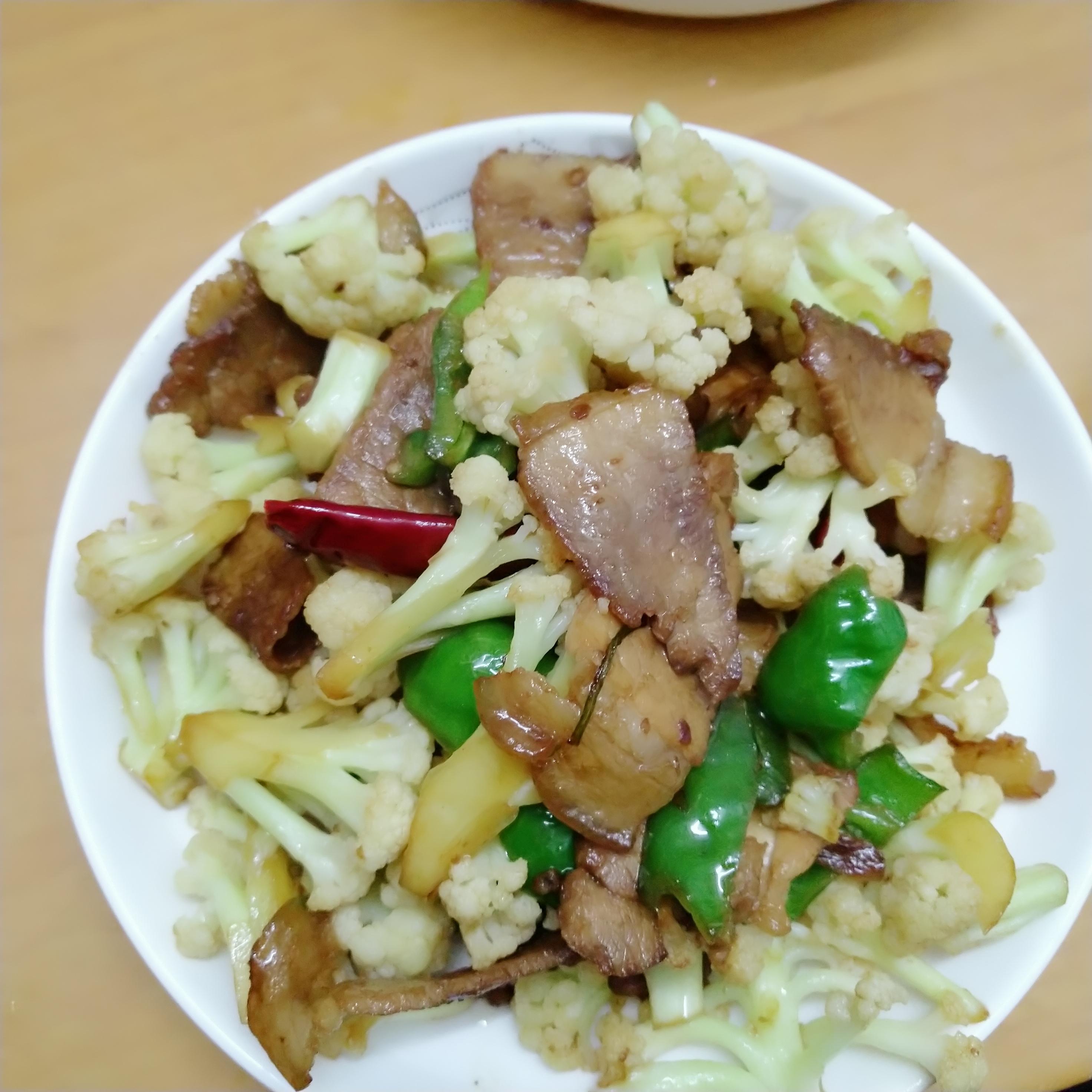 花菜回锅肉