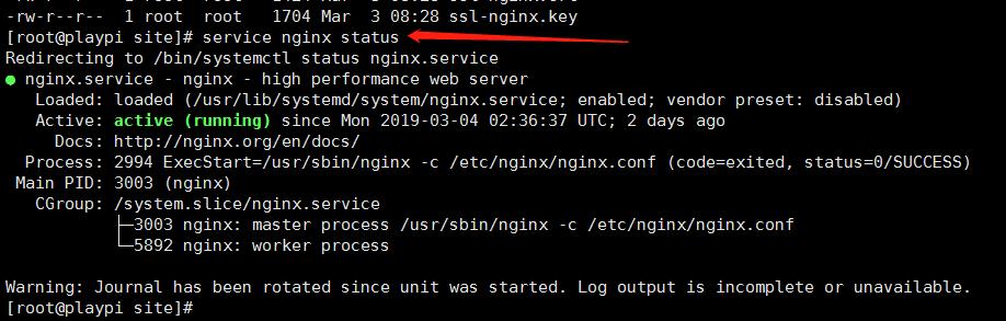 查看 Nginx 状态