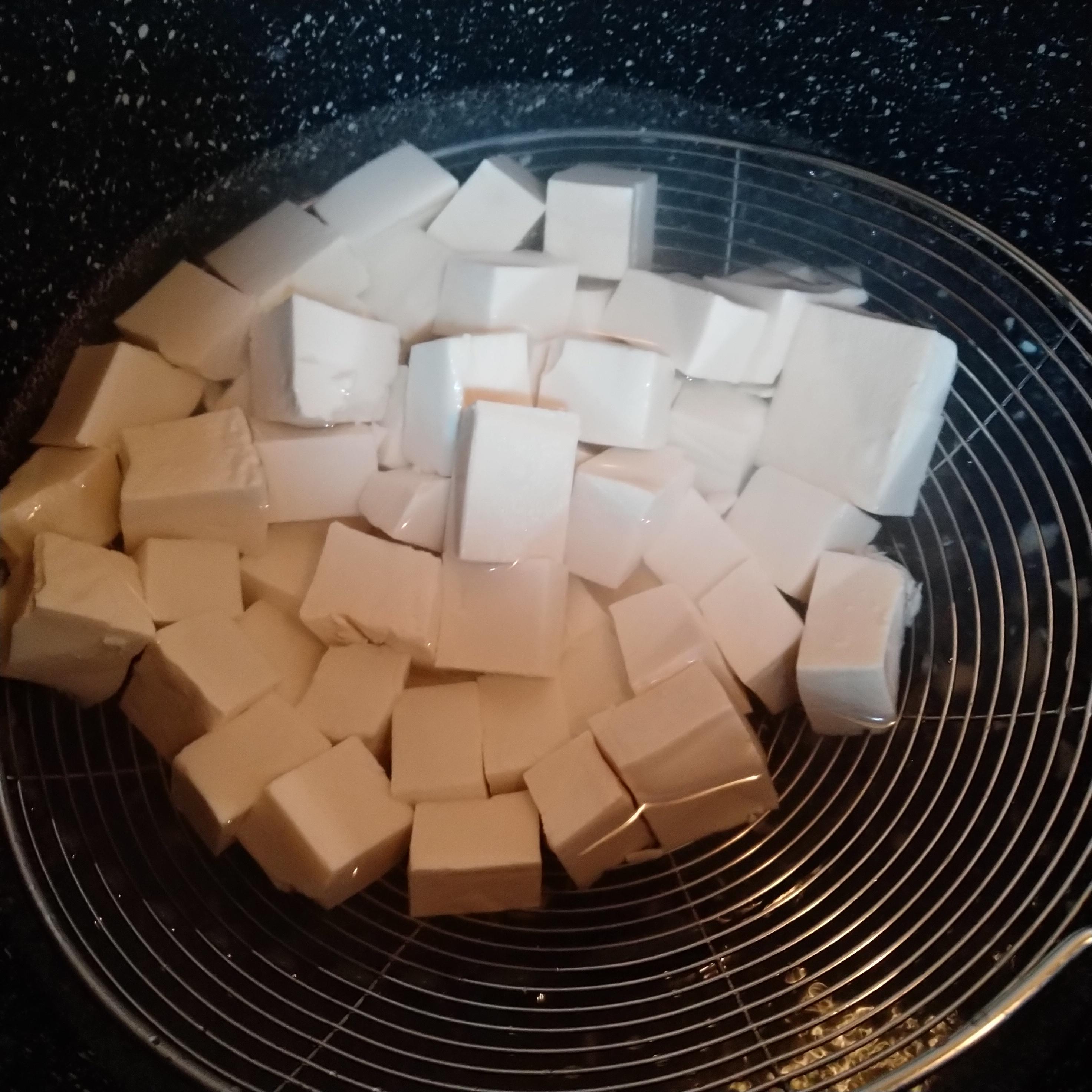 豆腐简单焯水