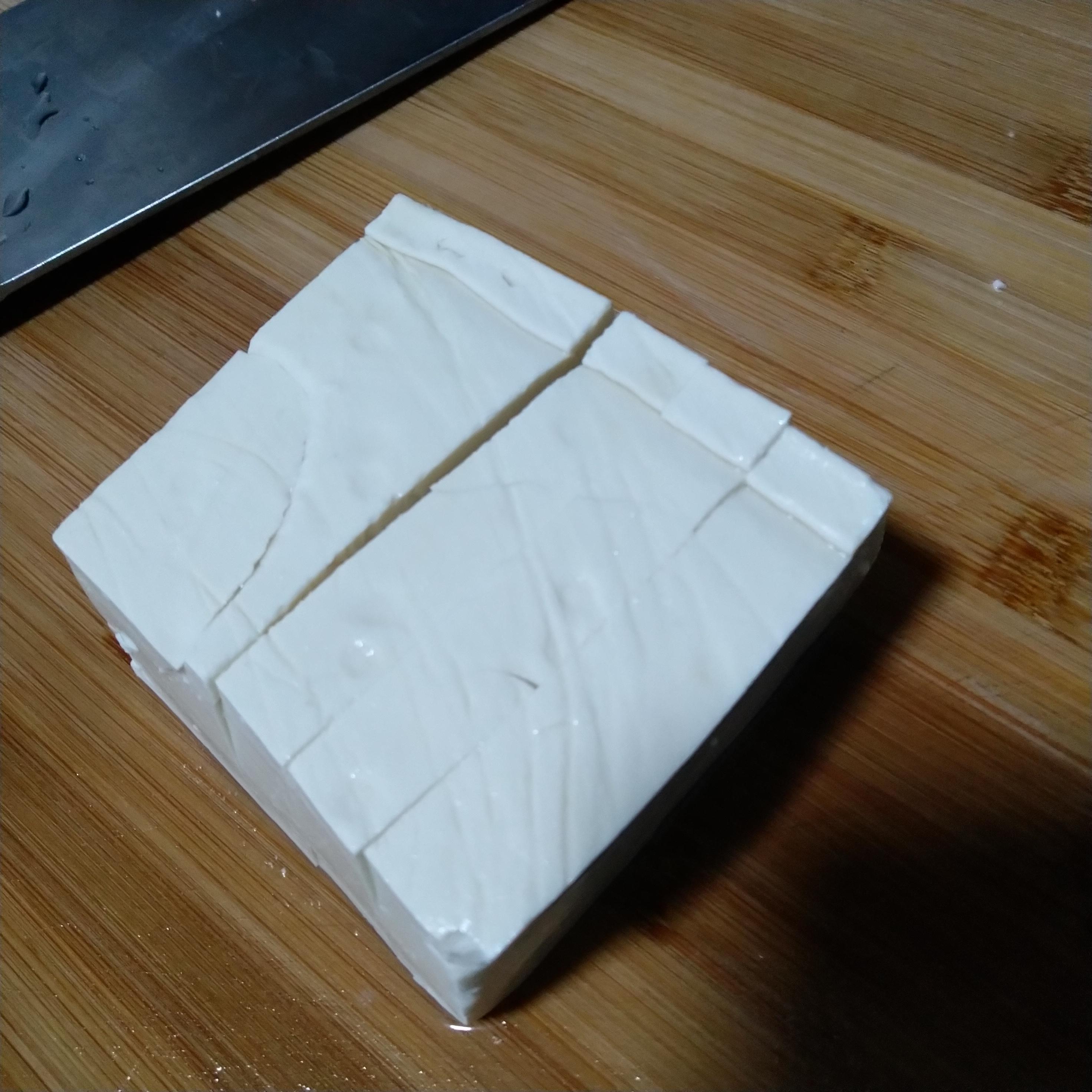 反向切豆腐