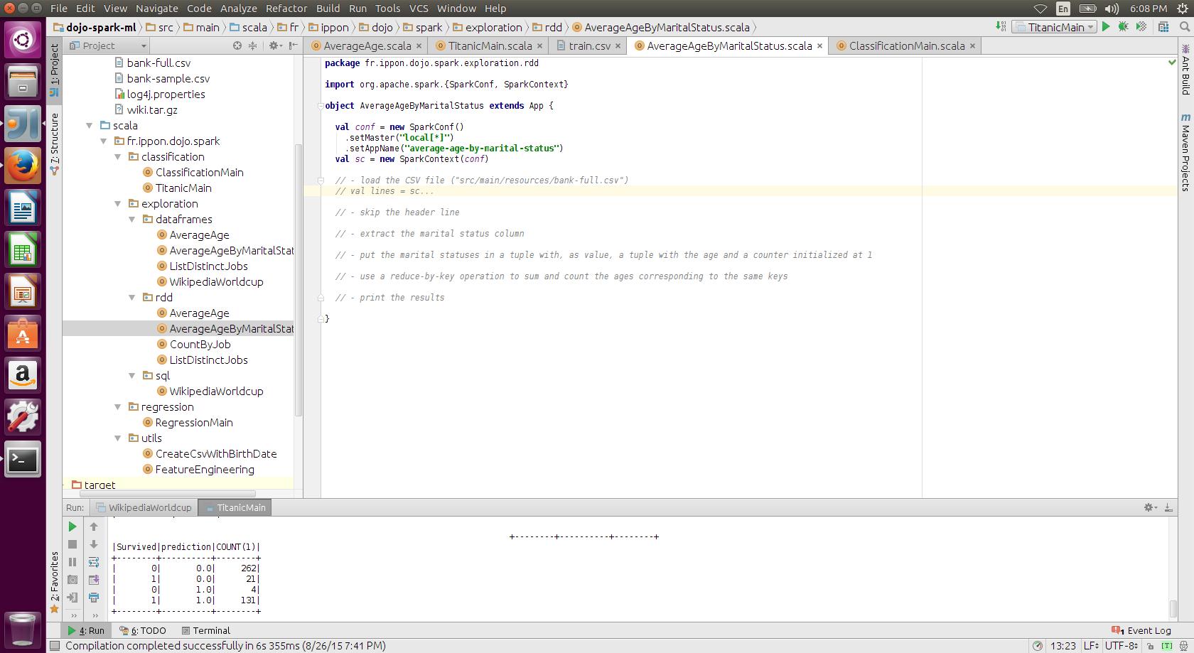 Writing Apache Spark Code