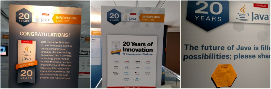 Java 20 Year Exhibit