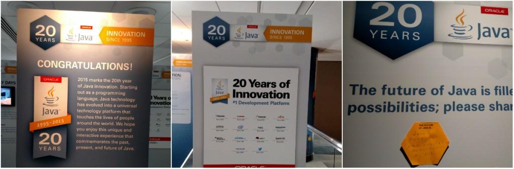 Java 20 Year Exhibit