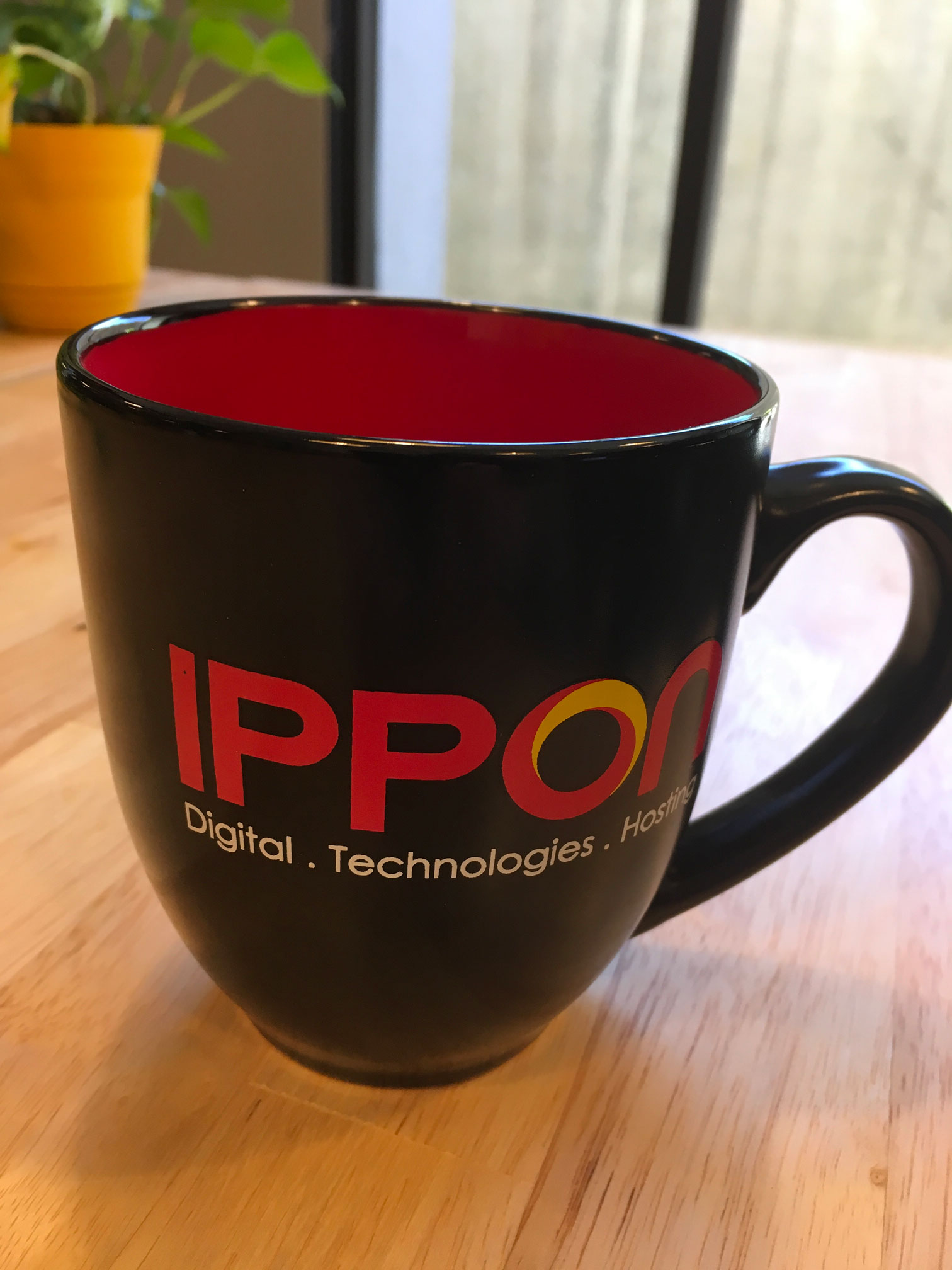 Ippon coffee mug