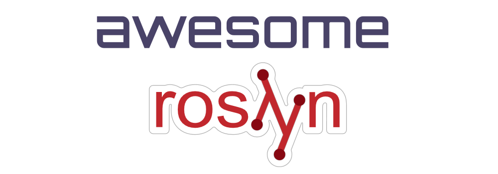 Roslyn - Awesome List