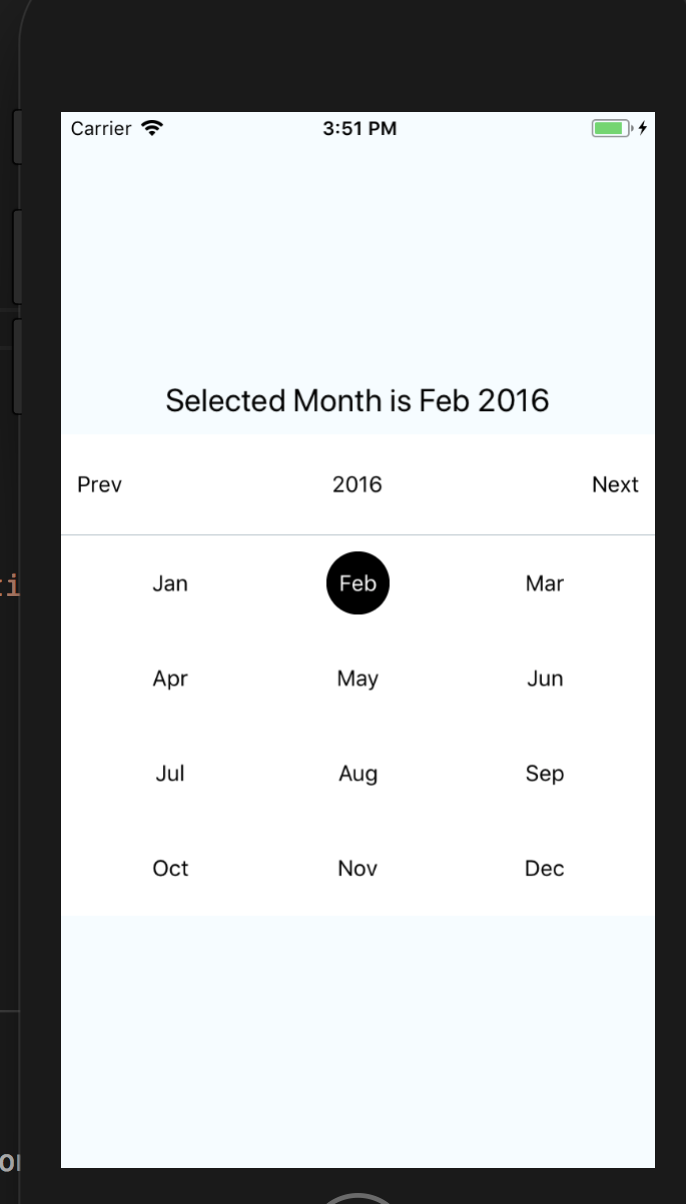 react-native-swipeable-month-selector - npm