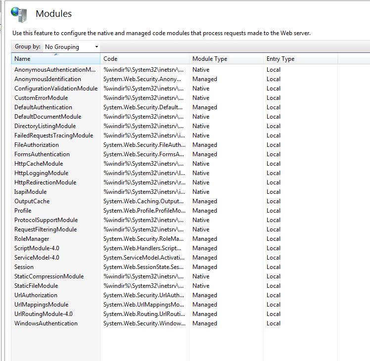 瀏覽器請求IIS流程