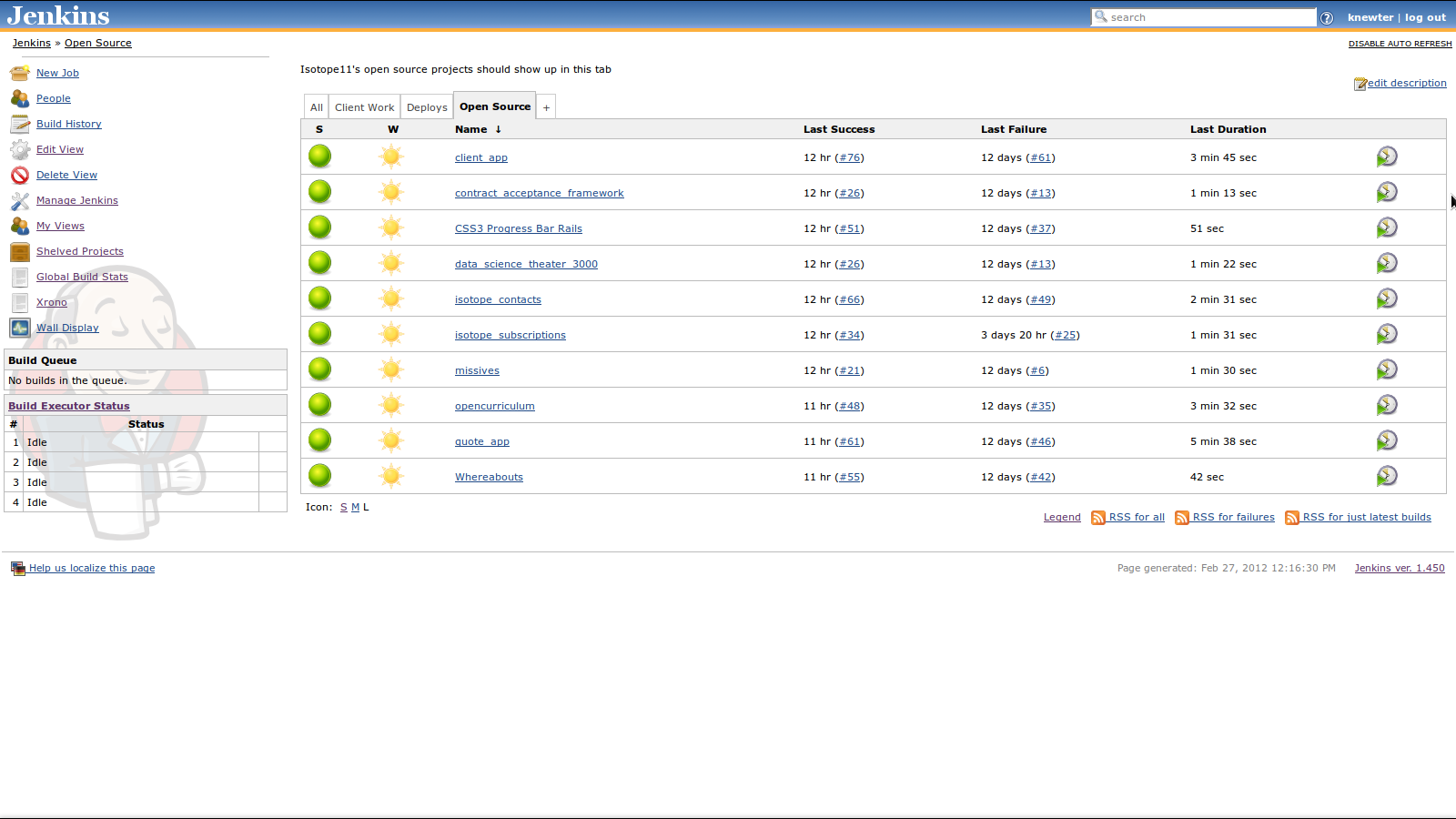 Styling Your Jenkins Continuous Integration Server – Blog ...