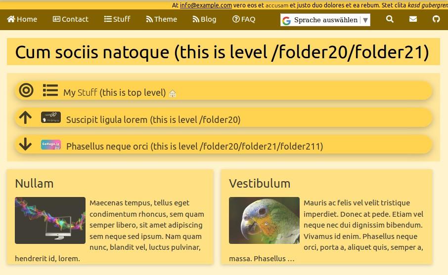 screenshot Page Navigation (up & down)