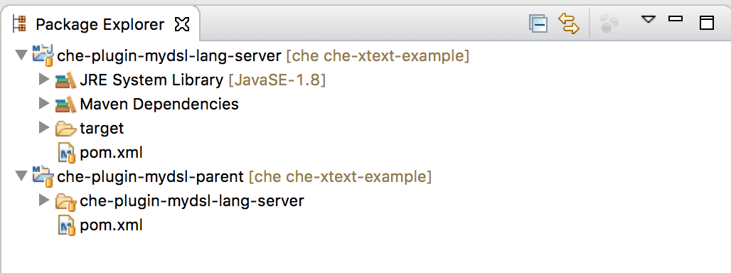 How to get started with Xtext Language Servers and Che