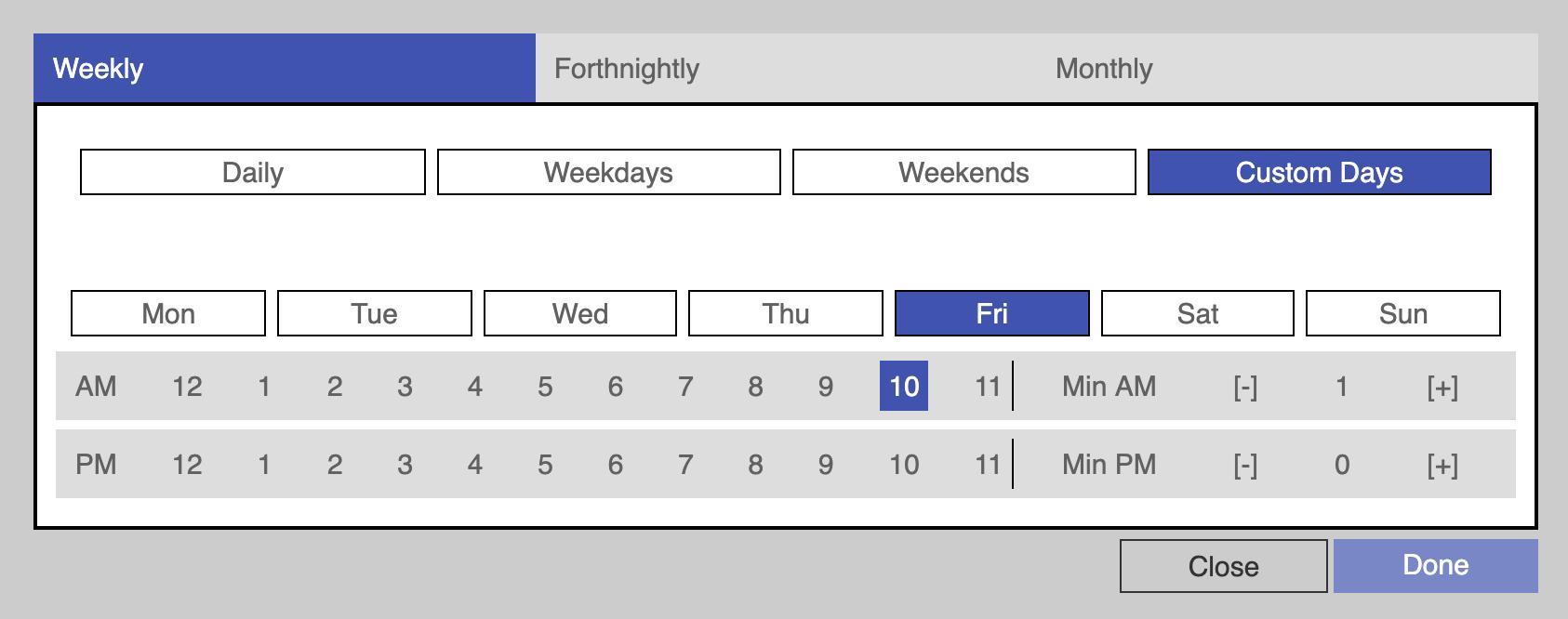 react-schedule-it