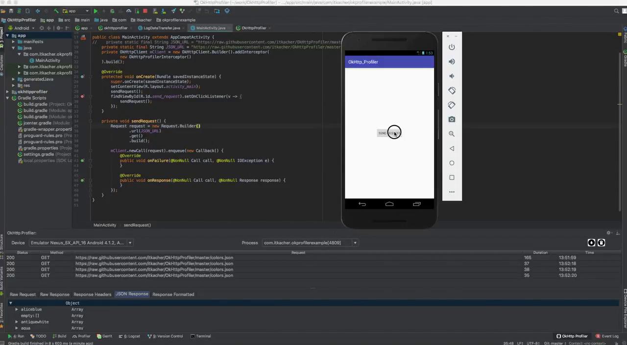Различные способы дебага запросов с Android-устройств и