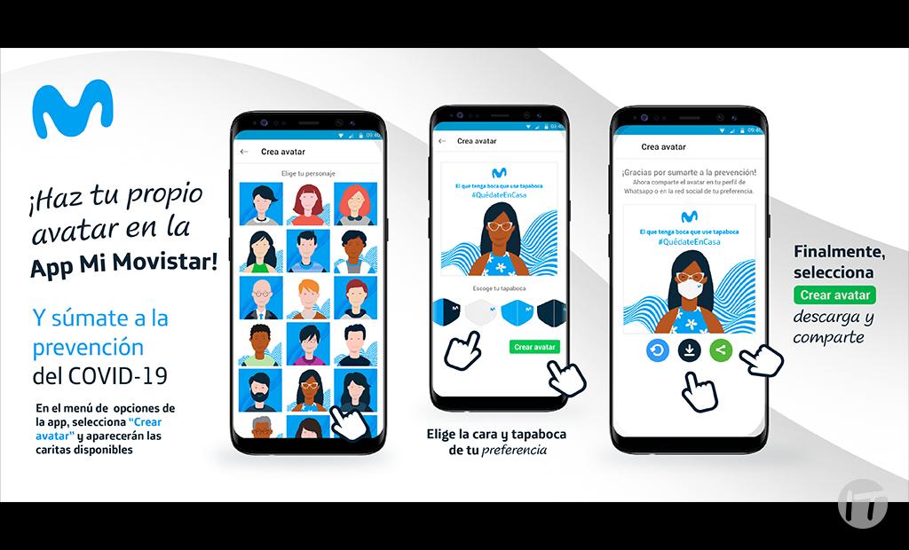 App Mi Movistar estrena funcionalidades y módulo para impulsar la prevención de la COVID-19