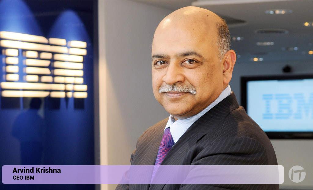 Al asumir su cargo como CEO de IBM, Arvind Krishna envía carta a los empleados de la empresa