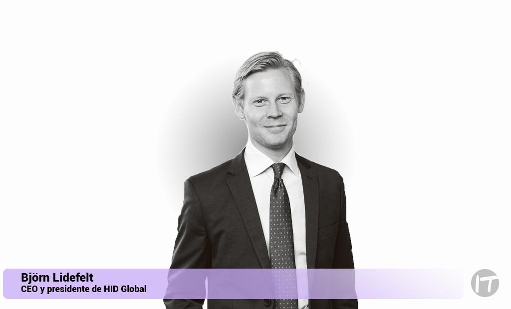 Björn Lidefelt es el nuevo CEO y presidente de HID Global