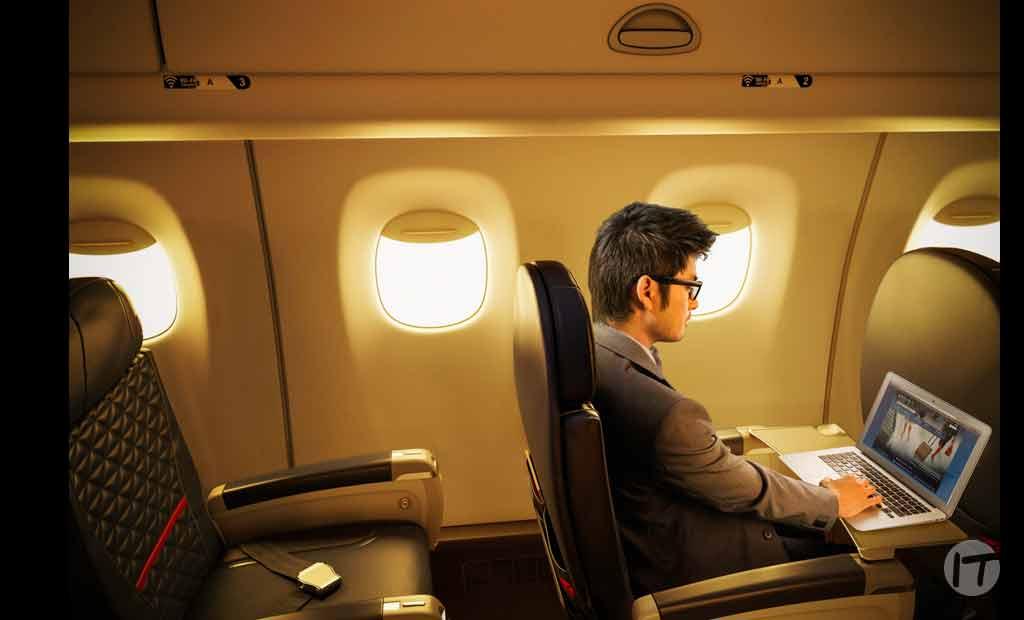 Más pantallas, más opciones: Delta equipa la aeronave número 600 con pantallas en los asientos