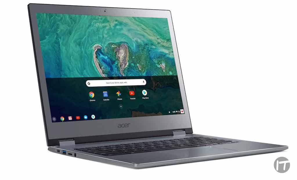 Acer presenta dos Chromebook Premium de 13 pulgadas diseñadas para uso comercial