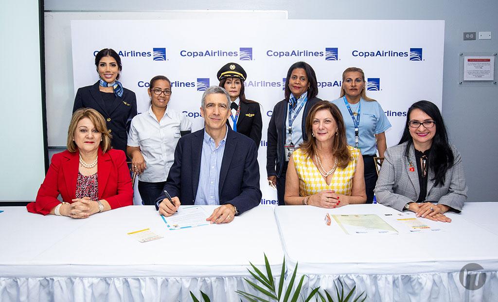 Copa Airlines se adhiere a los principios de empoderamiento de las mujeres de ONU Mujeres