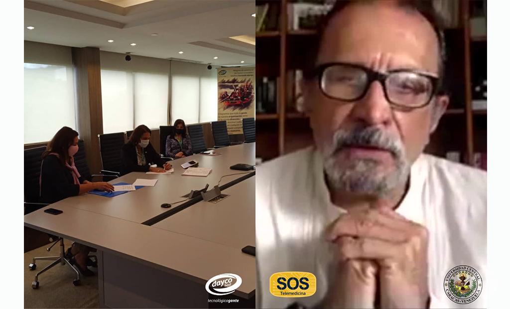 Daycohost y UCV firman alianza para impulsar programa SOS Telemedicina