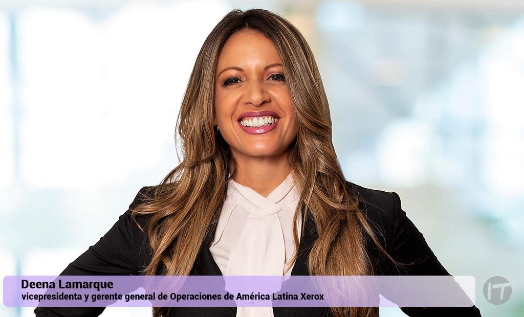 Xerox anuncia Vicepresidenta y Gerente General de Operaciones para América Latina