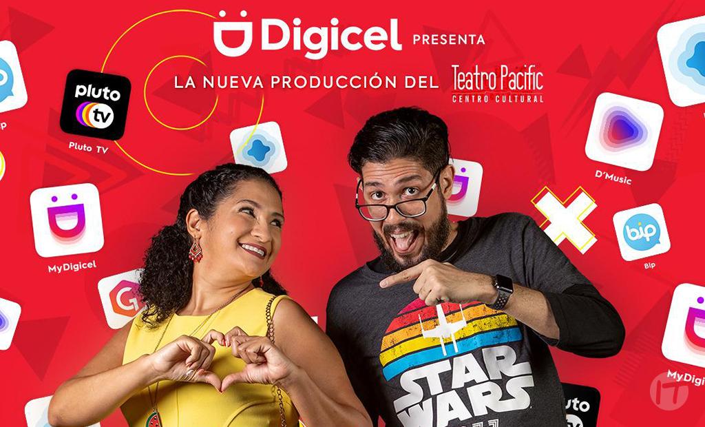 Digicel pone en escena comedia romántica 'Un clic entre 2'