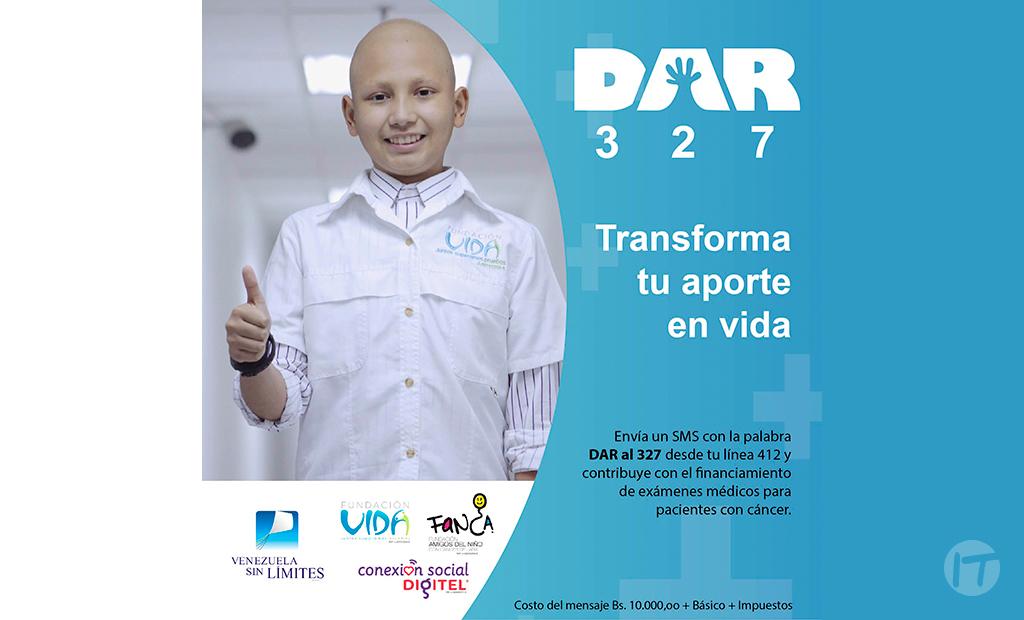 Conexión Social Digitel y Venezuela Sin Límites inician la segunda campaña DAR de 2020 para apoyar a pacientes oncológicos