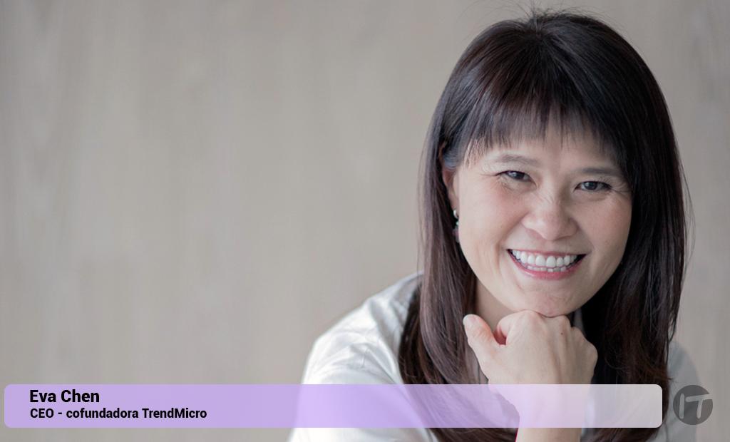 Eva Chen, CEO de Trend Micro, fue nombrada una de las 100 mujeres más influyentes en ciberseguridad para 2020