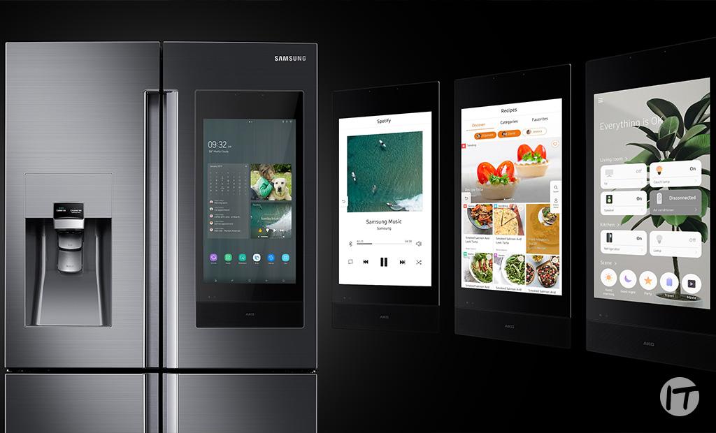 Family Hub de Samsung trae la inteligencia artificial y la planificación de comidas a la cocina en CES 2020