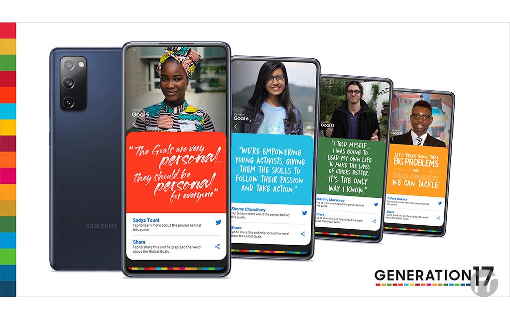Samsung y el Programa de las Naciones Unidas para el Desarrollo se asocian con los jóvenes para acelerar el progreso hacia los Objetivos Globales