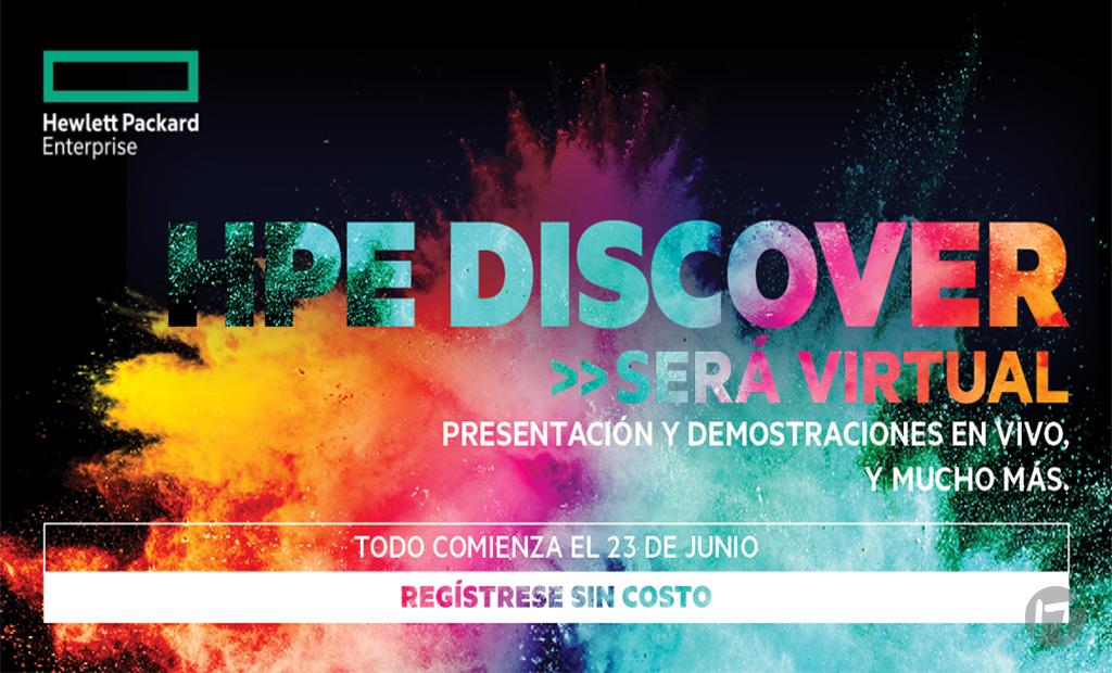 HPE prepara para Discover toda una Experiencia Virtual