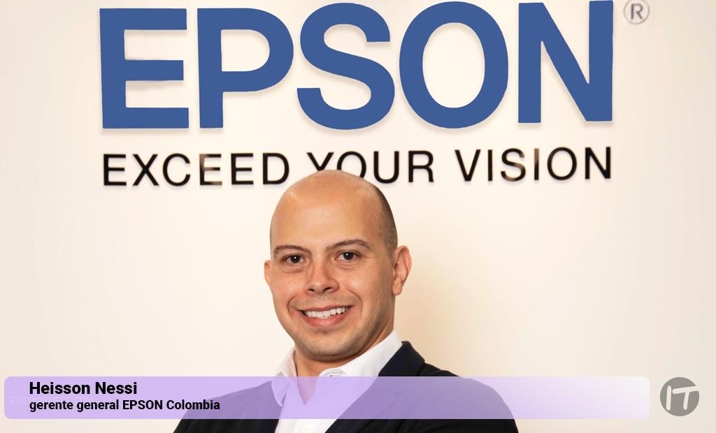 Epson Colombia anuncia nuevo gerente general