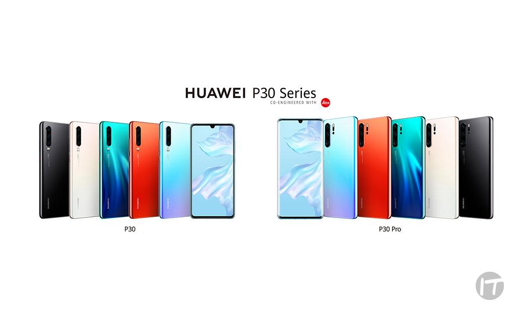 HUAWEI lanza oficialmente la Serie P30 en Colombia