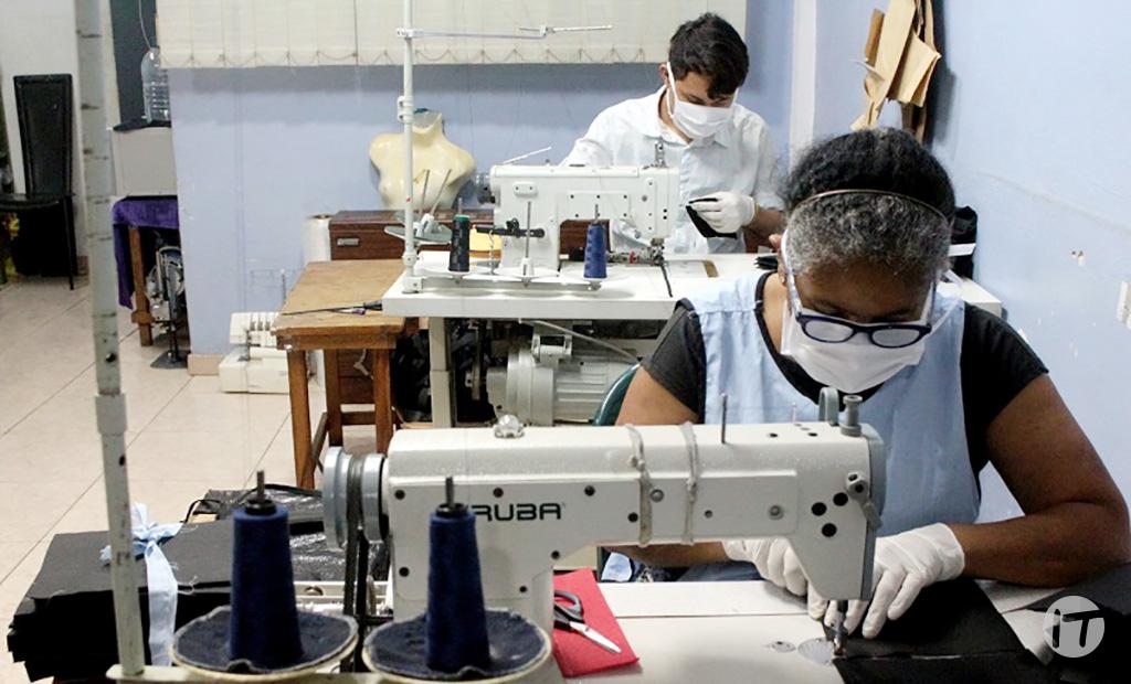 IVIC esterilizará mascarillas producidas por comuneros de Caracas para prevención de la COVID-19