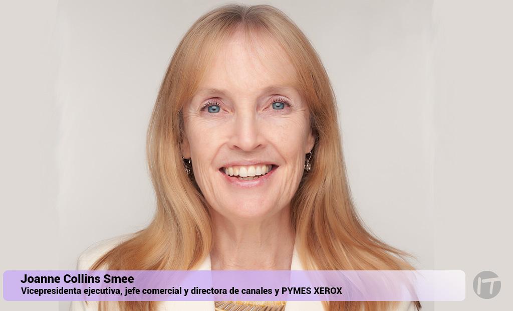 Xerox nombra a Joanne Collins Smee como vicepresidenta ejecutiva, jefe comercial y directora de canales y PYMES