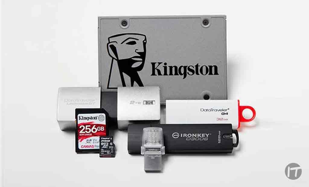 Kingston hará demo de nuevas SSD empresariales y de consumo, así como de soluciones integradas para la vida cotidiana