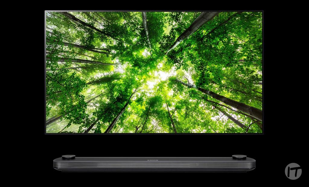 LG lanza el primer televisor de lujo en Colombia