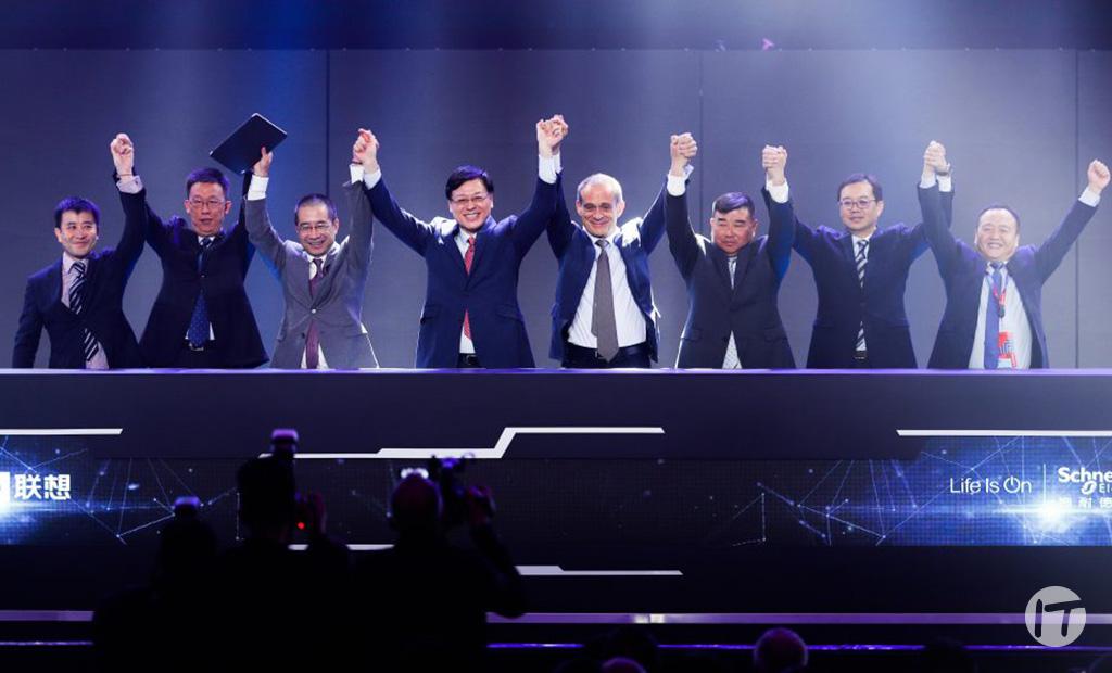 Lenovo y Schneider Electric anuncian alianza estratégica para trabajar en la fabricación ecológica inteligente