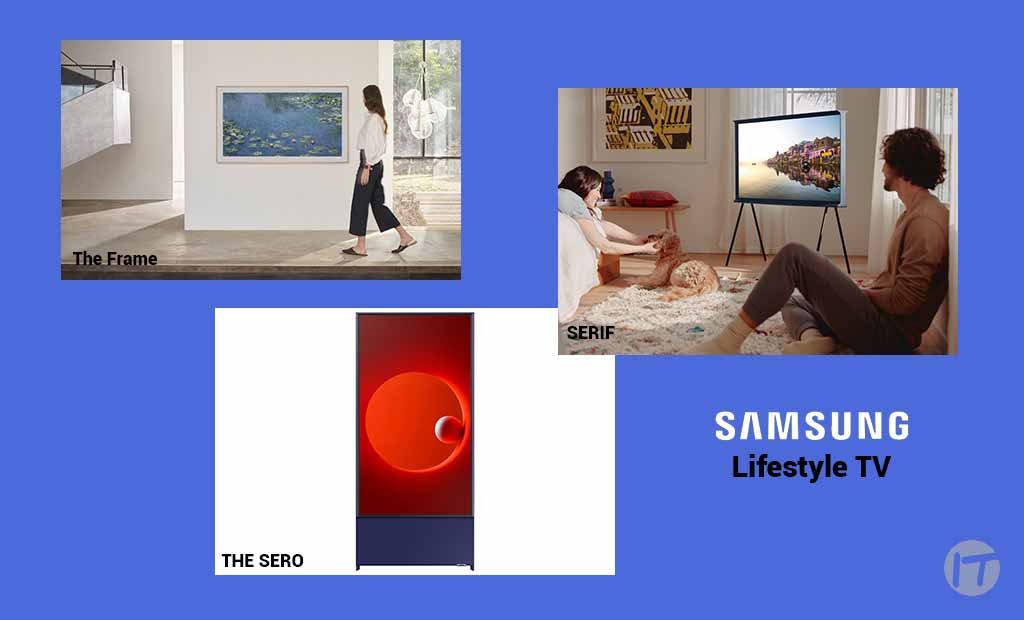 La novedosa serie de TV Lifestyle de Samsung se reinventa