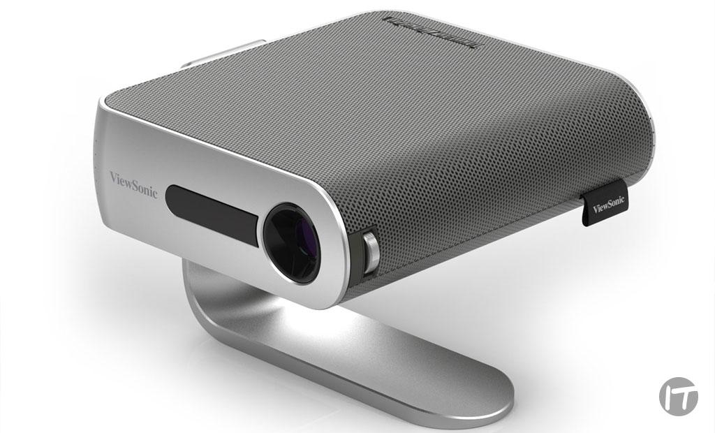 ViewSonic presenta proyector Ultra-Portátil que incluye altavoces Harman Kardon® y ofrece hasta 6 horas* de duración de batería