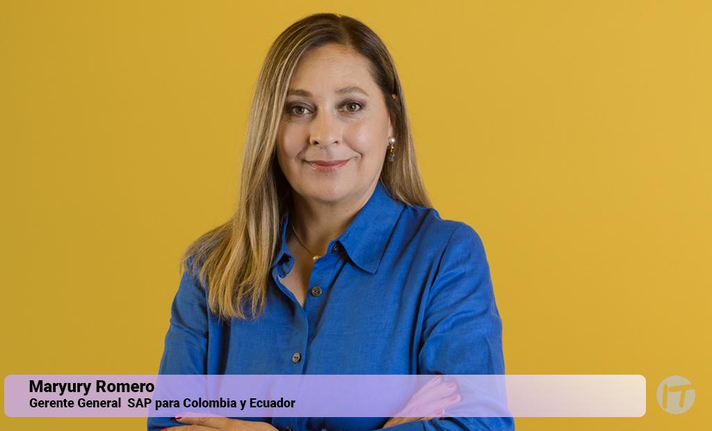 SAP nombra a Maryury Romero como la nueva Gerente General para Colombia y Ecuador