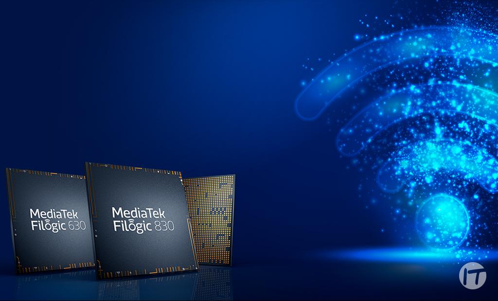 MediaTek anuncia la familia de conectividad Filogic con los nuevos chips para Wi-Fi 6:  6E Filogic 830 y Filogic 630