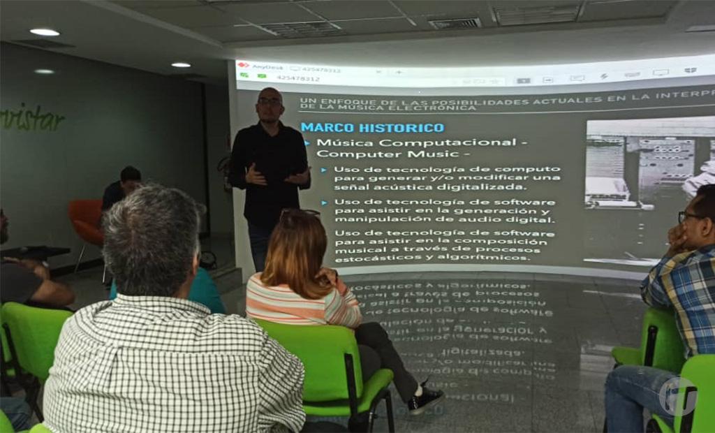 Mega Sala Digital Movistar fue espacio de formación para profesionales de música electrónica