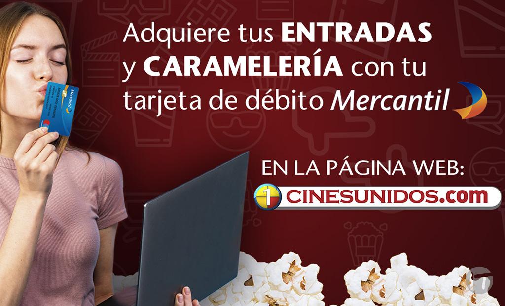 Cines Unidos incluye nuevo método de pago en su página WEB