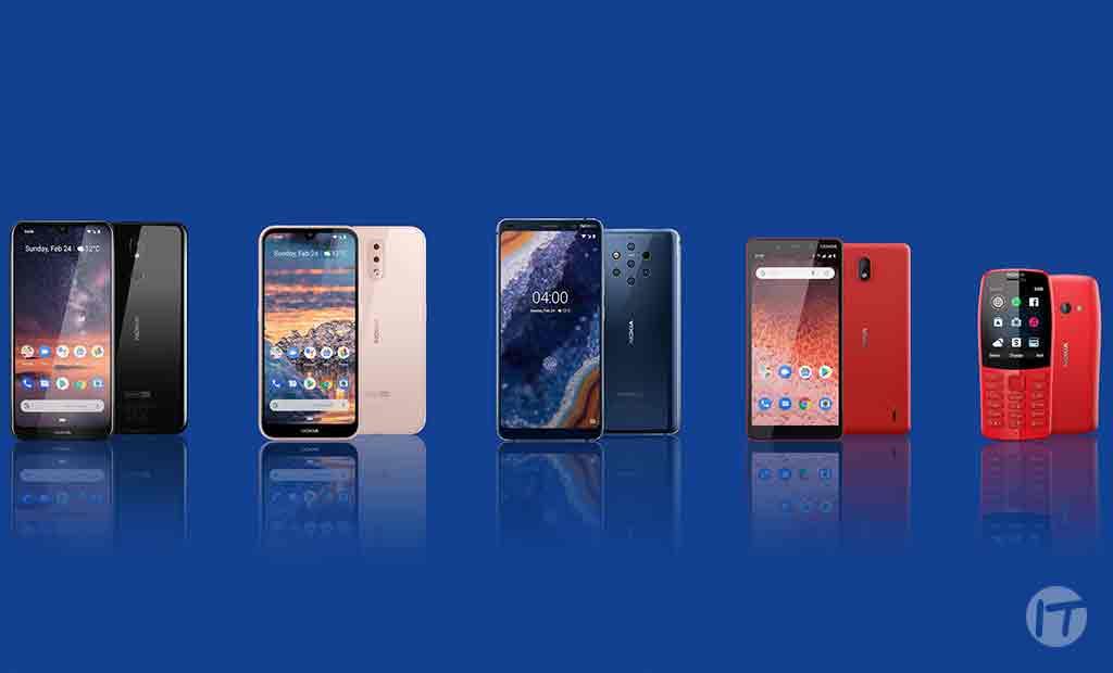 Presentamos cuatro nuevos teléfonos smartphones Nokia: ofrecen experiencias pioneras en toda la gama e innovación en tecnología de imagen