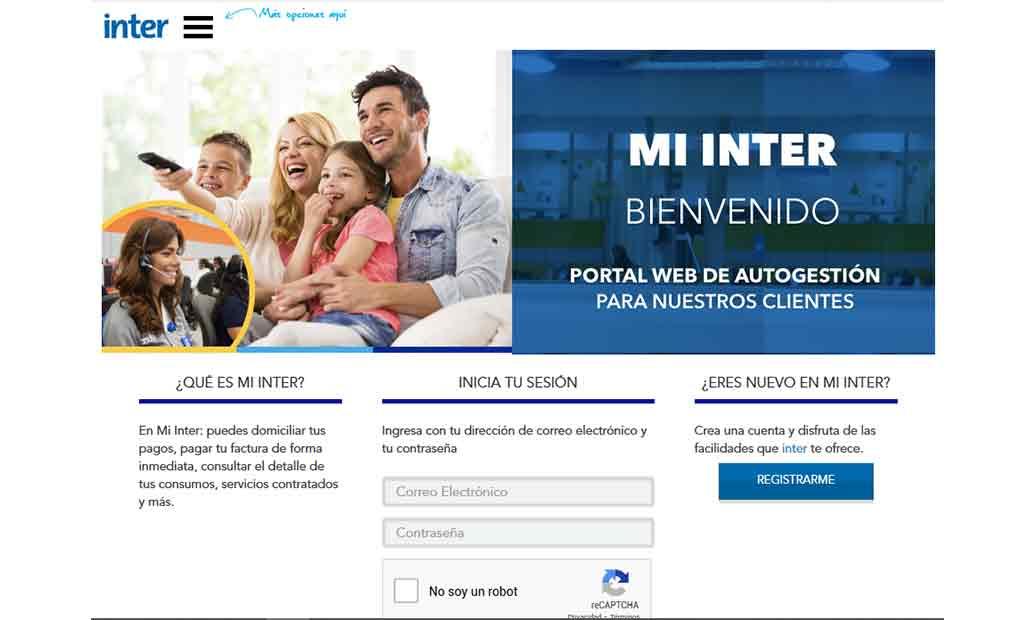 Inter renueva su portal web mi.inter.com.ve con más opciones de atención para sus usuarios