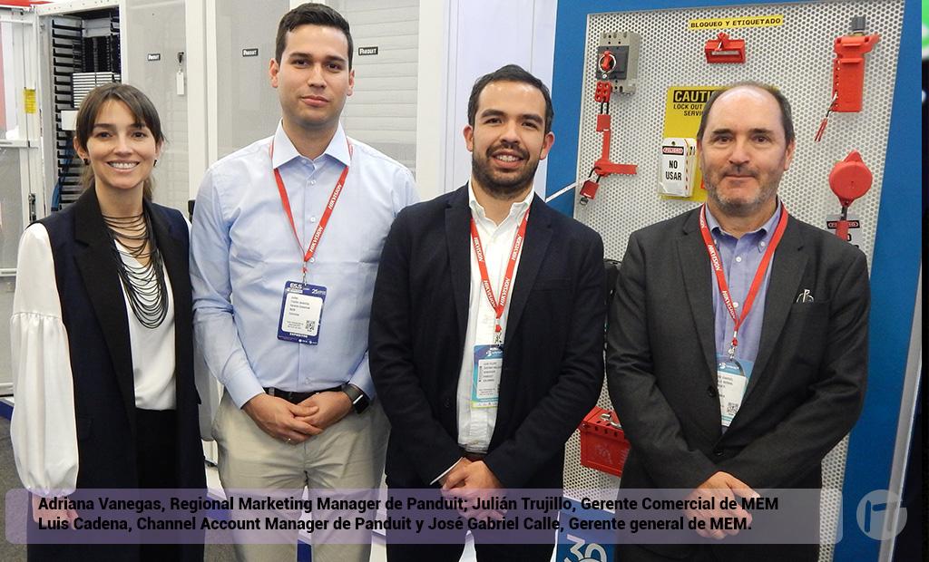 """Panduit presentó línea de """"Solución Blanca"""" para centros de datos en la Feria Internacional de Seguridad de Bogotá"""