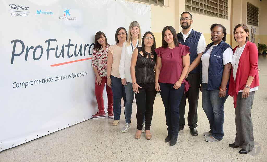Fundación Telefónica Movistar lleva programa de educación digital ProFuturo a 16 escuelas de Fe y Alegría