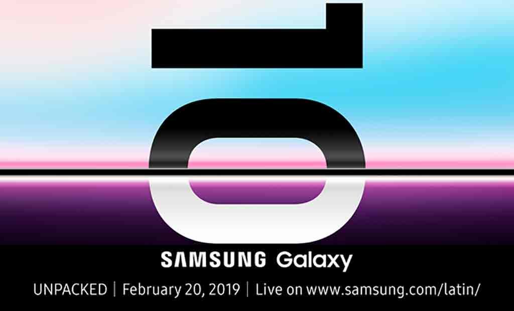 Samsung anuncia fecha de su nuevo Galaxy 10