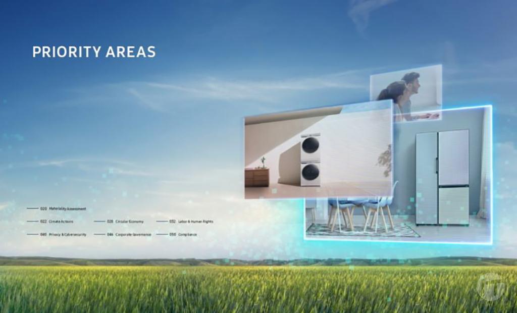 Samsung continúa con su apuesta a la sustentabilidad